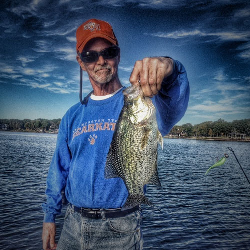 Big Crappie Fishing website, by Clever Mutt™