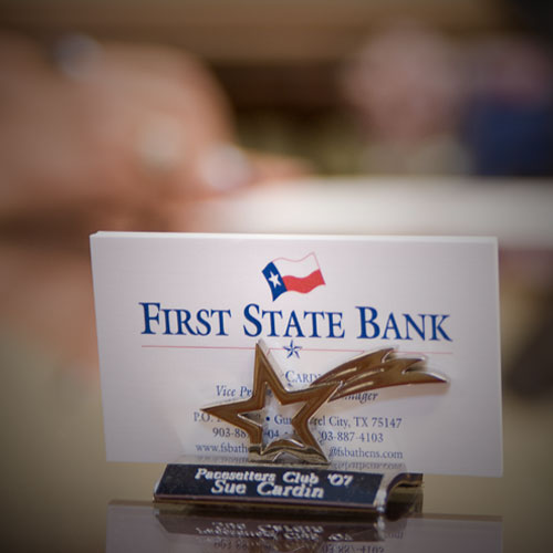 First State Bank website, by Clever Mutt™